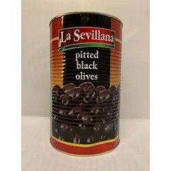 Sevillana Zwarte Olijven zonder pit