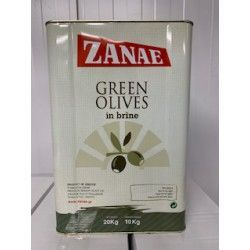 Olijven groen Ex.Jumbo zonder pit