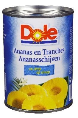 Key Ananas 60/70 hele schijven