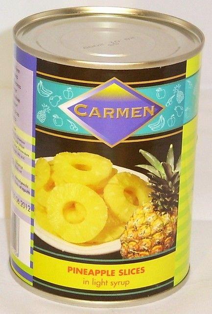 Ananas 10 schijf