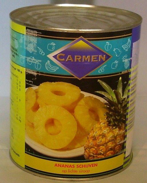 Carmen Ananas 60-70 schijven A10