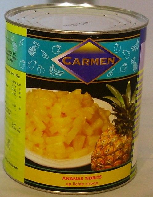 Ananas Tidbits A10