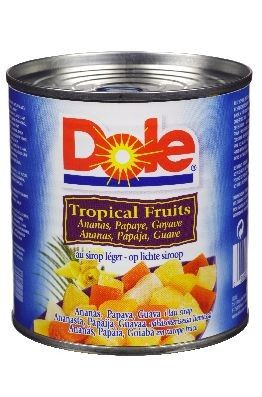Dole Fruitcocktail Tropisch.
