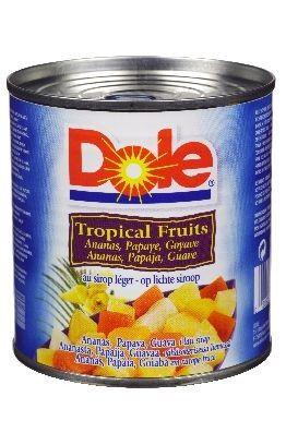 Dole Fruitcocktail Tropisch.