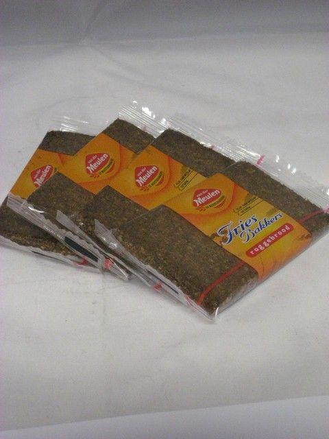 Van Der Meulen Roggebrood ap.verpakt 50g