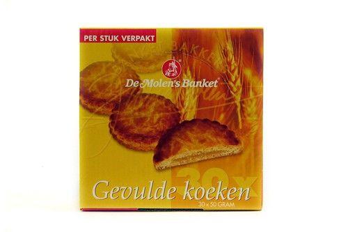 Gevulde Koeken Super p/st verp.