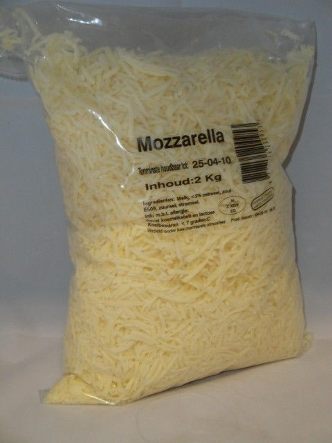 NRD Gemalen Mozzarella 4mm