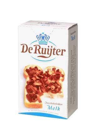 De Ruyter Chokoladevlokken Melk