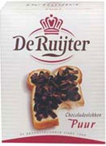 De Ruyter Chokoladevlokken Puur
