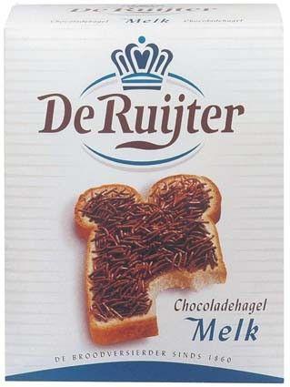 De Ruyter Chokolade Hagel Melk