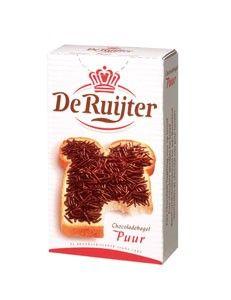 De Ruyter Chokolade Hagel Puur