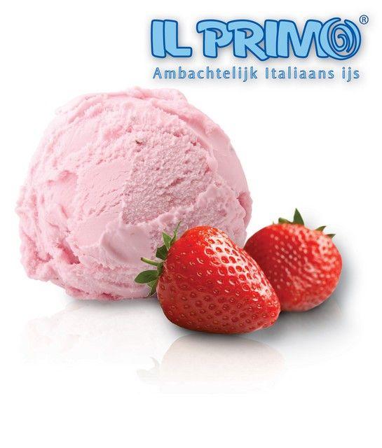 Il Primo Aardbeien ijs premium