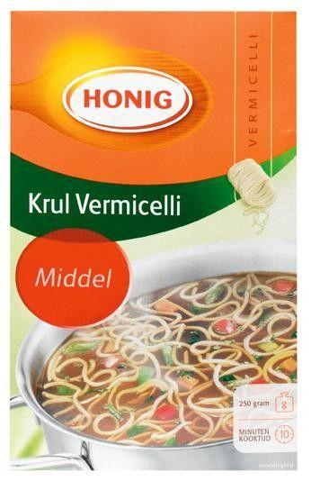 Honig Krulvermecelli middel