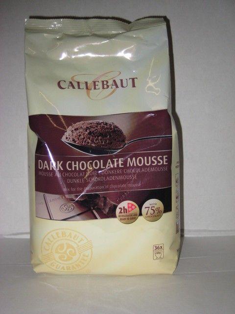 Callebout Puur Chokolade Moussepoeder