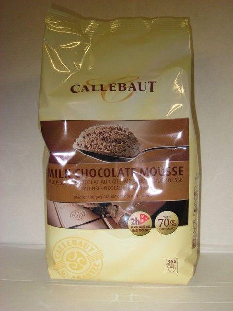 Callebout Melk Chokolade Moussepoeder