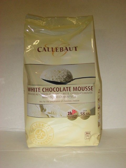 Callebout Witte Chokolade Moussepoeder
