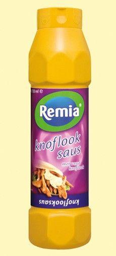 Remia Knoflooksaus tube