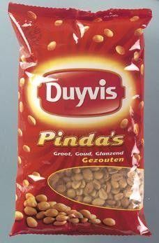 Duyvis Gezouten Pinda's