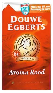 D.E.Snelf.koffie Aroma Rood