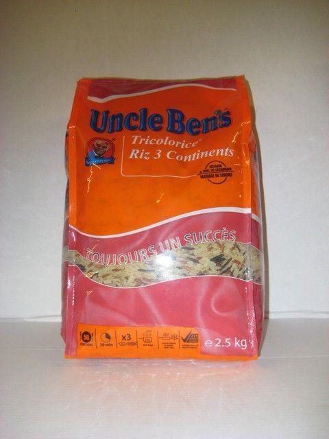 Uncle Ben Tricolore Rijst
