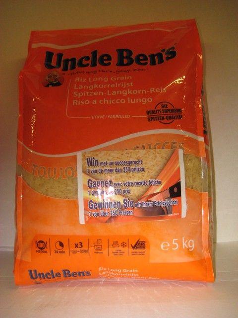 Uncle Ben Witte Langkorrelrijst 20mm