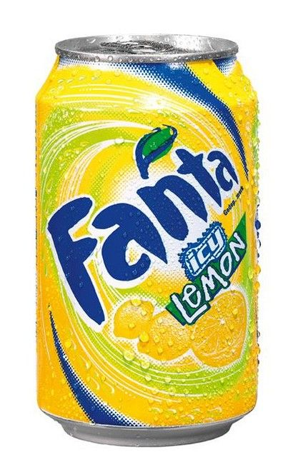 Fanta Orange lemon blik