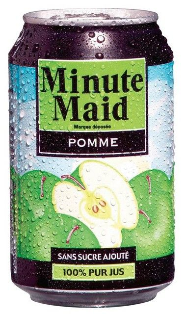 Minute Maid Appel blik