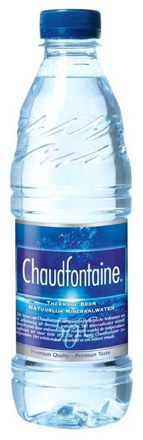 Chaudfontaine blauw pet