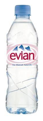 Evian Water pet