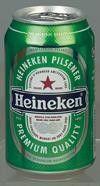 Heinekenbier blik 5%