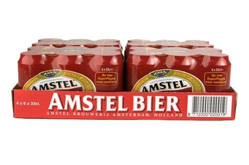 Amstel Malt Bier blik
