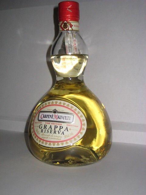 Grappa Vecchia,Ris Carpene Malvolti