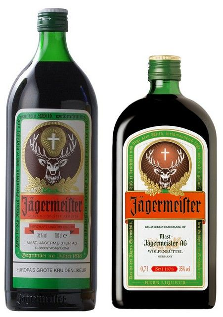 Jagermeister rond 35%