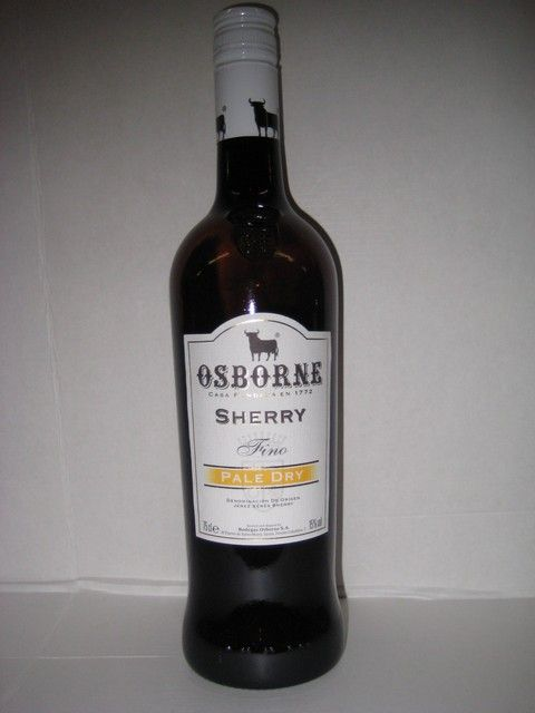 Osborne pale dry sherry 15%