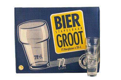 Bierglas met Kraag